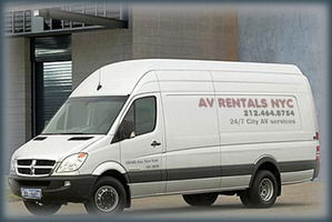 Rent radios - 2 way radio rentals from our audio visual production services. Free delivery by AV Rentals NYC.